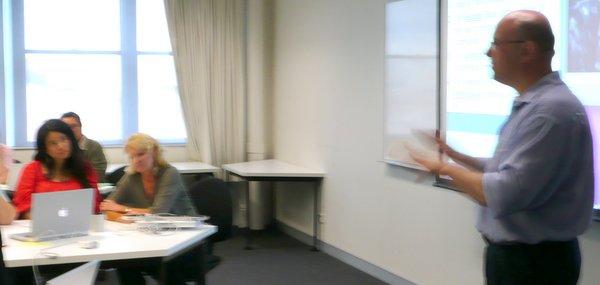 Simon in Workshop