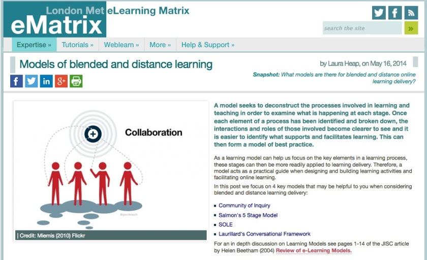 LondonMet eMatrix Web Resource